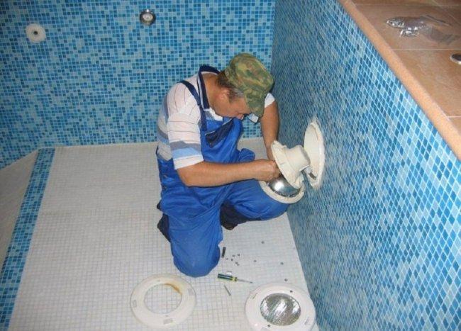 Особенности проведения ремонта бассейна