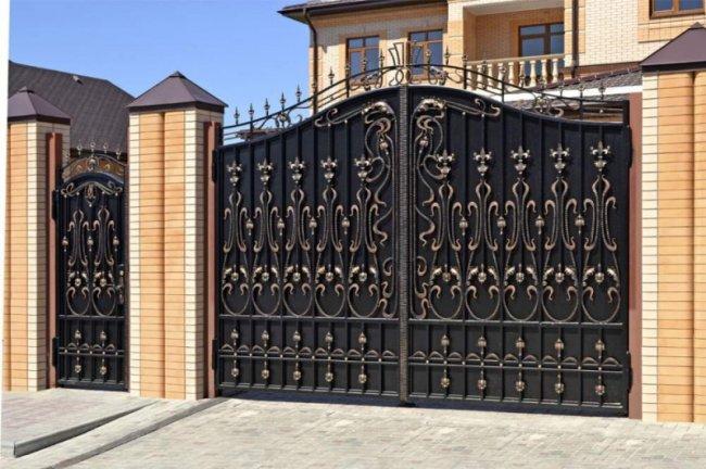 Выбор и покупка металлических ворот