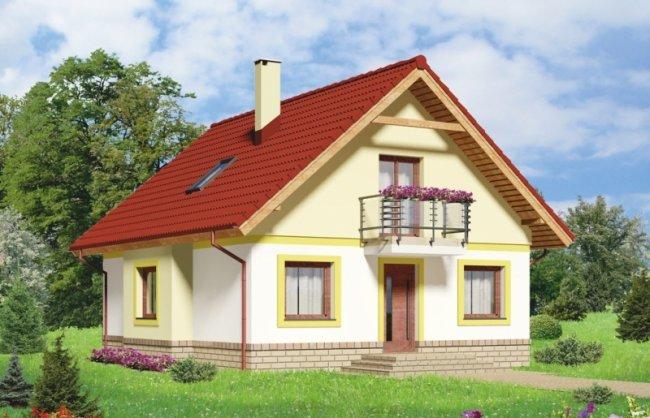 Выбор подходящего проекта маленького дома с мансардой
