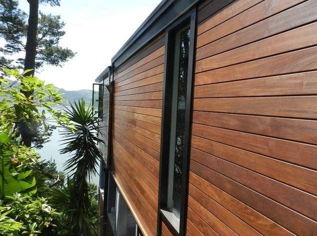 Надежная обшивка домов деревом