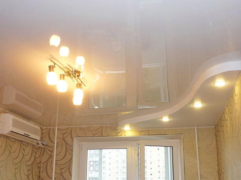 Производство разных видов натяжных потолков