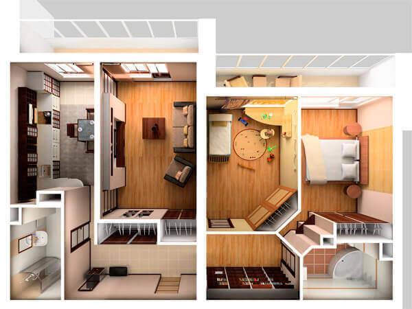 Для чего нужна перепланировка квартиры